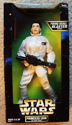 STAR WARS Princess Leia CARRIE FISHER Action FIGURE Empire Strikes Back HOTH mib