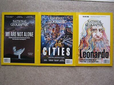 National Geographic March 2019 El Salvador Borneo Treehoppers Venice US Water