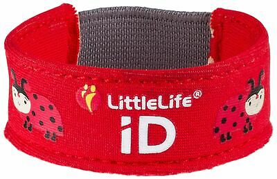 Little Life LITTLELIFE SAFETY ID STRAP - LADYBIRD Toddler Accessory BN