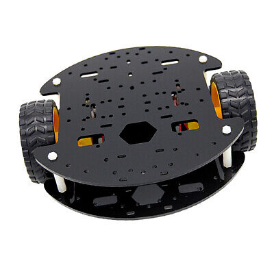 2 Drive Smart Robot RC Car Tracked Tank Chassis Car Parts for Arduino DIY
