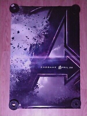 """Avengers Endgame Double Sided Authentic Movie Theater Poster 27"""" x 40"""""""