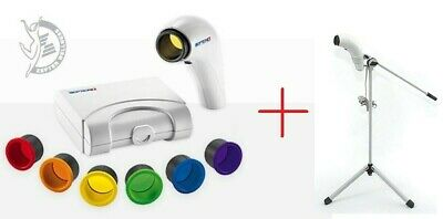 Zepter Bioptron Compact III heal lamp Therapy Device + Stand + Color Therapy set