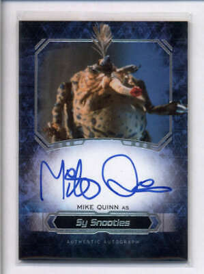 Mike Quinn As Sy Snootles Star Wars Masterwork Autograph Auto Ac2493