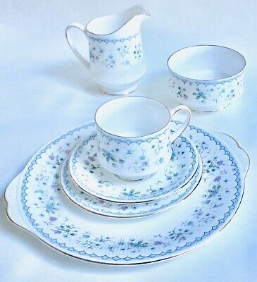 Paragon Teaset 21 Piece for Bone china Afternoon Tea Party Gift Flora Bella