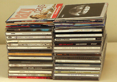29 CDs and 30 PROMO CDS & 2 DOUBLE PROMO CD MIXED BULK LOT 63 Cds TOTAL