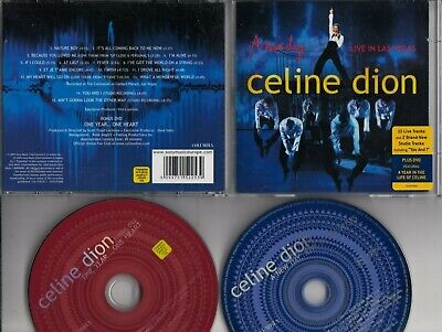 CELINE DION A New Day Live In Las Vegas DOUBLE CD & DVD COLUMBIA EUROPE