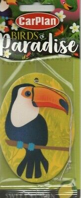 Carplan - Birds Of Paradise - Car Air Freshener - Pelican    *New And Sealed*2