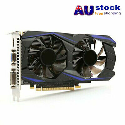 AUFor NVIDIA GeForce GTX960 4GB-DDR5 128Bit PCI-E Gaming Video Graphics Card NEW