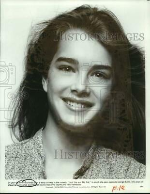 """1979 Press Photo Actress Brooke Shields in """"Just You and Me, Kid"""" movie"""