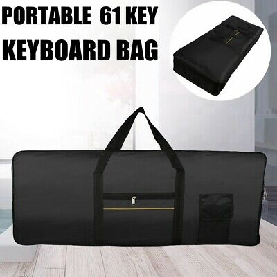 61Key Keyboard Electric Piano Soft Padded Case Gig Bag Advanced fabrics Portable