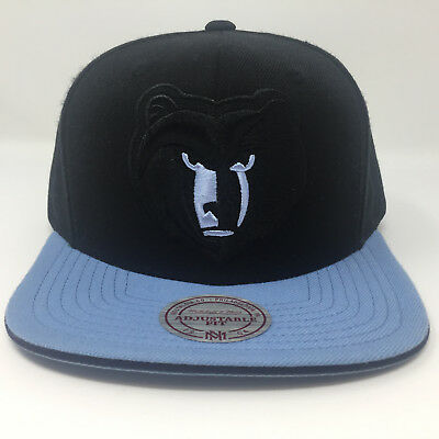 best service 9fb21 57559 Mitchell and Ness Memphis Grizzlies Snapback Adjustable Hat Cap Lid EUC