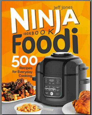 Ninja Foodi Cookbook 500 Recipes for Everyday Cooking Eb00k/PDF - FAST Delivery