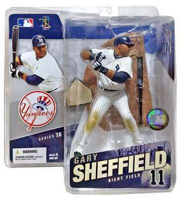 Gary Sheffield MLB New York Yankees McFarlane action figure Series 16 NIB Yanks