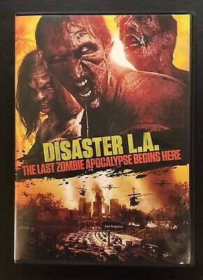 Disaster L.A.: The Last Zombie Apocalypse Begins Here DVD 2014 Horror NEAR MINT