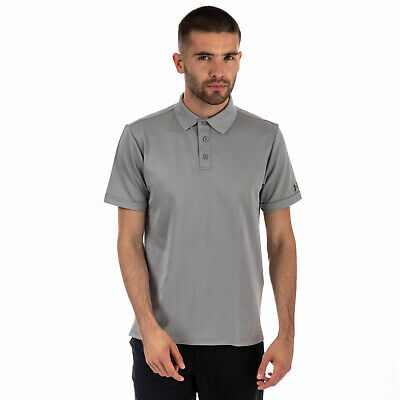 Mens Under Armour Medal Play Performance Polo Shirt In Grey