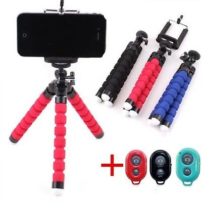 Mobile Phone Holder Flexible Octopus Tripod Bracket  Selfie Stand Monopod
