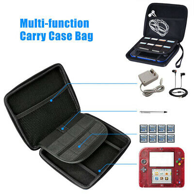 For Nintendo 2DS Travel EVA Hard Carrying Bag Case Cover Protector Portable AU