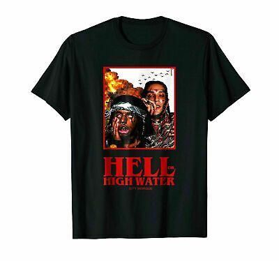 Brand New !!! Hell Or High Water CITY MORGUE Funny T SHIRT SIZE S-5XL