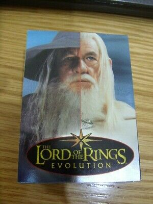 Lord of the Rings-EVOLUTION- Full Set of 72 Cards in Very Good Condition