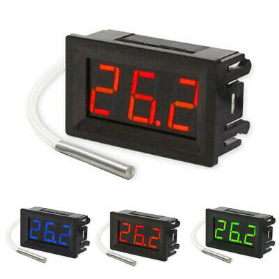 K-type Digital Thermometer Thermocouple -30 ~ 800 Degree 48*29*23mm Hot Sale
