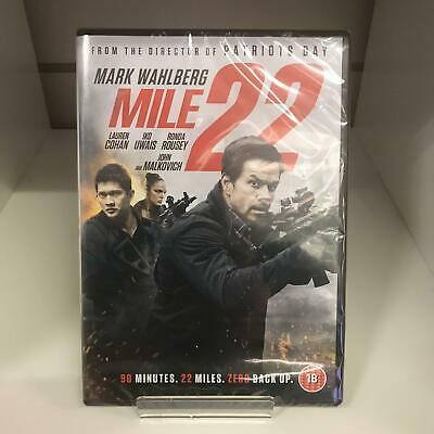 Mile 22 DVD (2018) New and Sealed