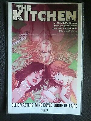 The Kitchen By Ollie Masters & Ming Doyle Gritty 1970'S Irish Mob Crime Saga