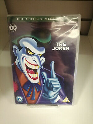 DC Super-Villains The Joker DVD - New and Sealed Fast and Free Delivery