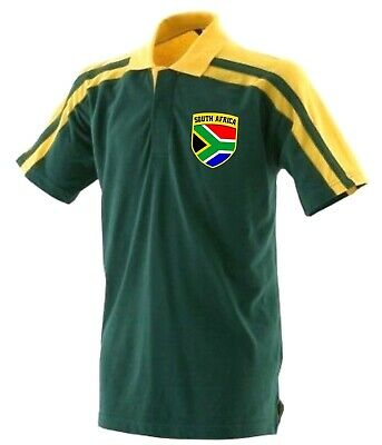 South Africa African National Cricket Team Supporters Polo Shirt - All Sizes