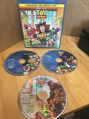 Disney Pixar Toy Story 3 Blu-Ray + DVD