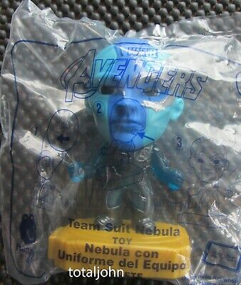 McDonalds Avengers #9 Team Suit Nebula Happy Meal Toy New Unopened Package