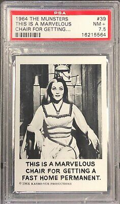 1964 The Munsters #39 This Is A Marvelous Chair For Getting ... Psa 7.5 Nm+ Cond