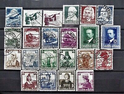 Germany - Third Reich1935-1940 Collection of complete sets - Used