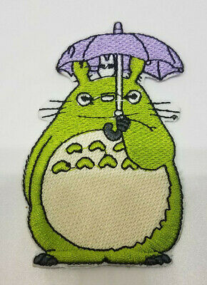 My Neighbor Totoro with Unbrella 3 1/4 inch tall patch
