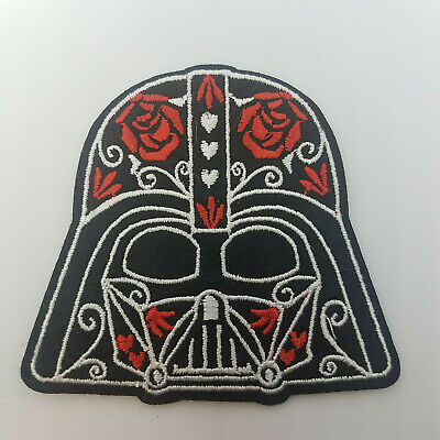 Star Wars Darth Vader Helmet Decorative Patch  3  inches tall