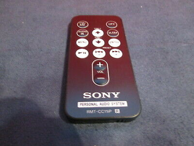 Sony Personal Audio System RMT-CC11IP Remote Control Very Good
