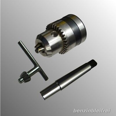 Bit Chuck 3 - 16mm B16 for Stand Drill/Lathe + Recording MK2 Top