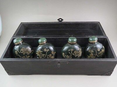 575g ANTIQUE CHINESE OLD HETIAN JADE SNUFF BOTTLE