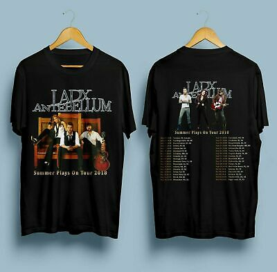 Brand New !!! Lady Antebellum Summer Plays On Tour 2018 T SHIRT SIZE S-5XL