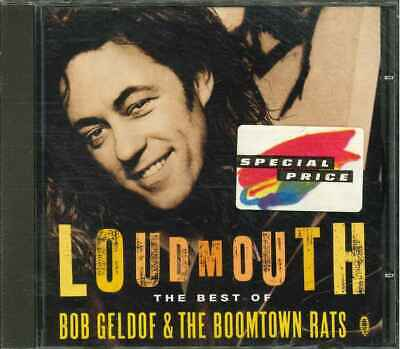 "BOB GELDOF & THE BOOMTOWN RATS ""Loudmouth - The Best Of"" CD-Album"