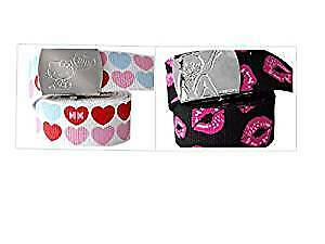 Character Birthday Girls Belt Twin pack - Hello Kitty/Betty Boop
