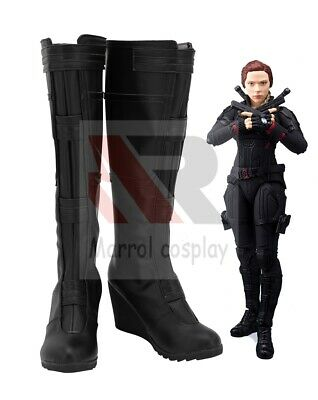 The Avengers Black Widow Natasha Romanoff Short Curly Synthetic Cosplay Wig DS01