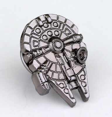 STAR WARS Millenium Falcon Logo Metal Pin brooch prop badge darth vader cosplay