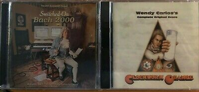 2CD Wendy Carlos - Clockwork Orange + Switched on Bach 2000 (2CDs in JEWEL CASE)