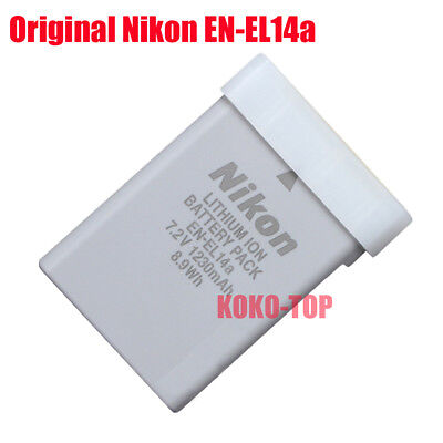 Genuine Original Nikon EN-EL14a Battery For D5300 D5200 D5100 D3300 P7800 P7700