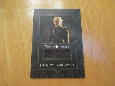 Game of Thrones Inflexions Relic Costume Card VR7 Daenerys Targaryen's Coat