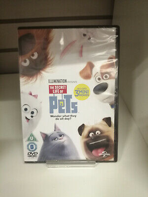 The Secret Life of Pets DVD - New and Sealed Fast and Free Delivery