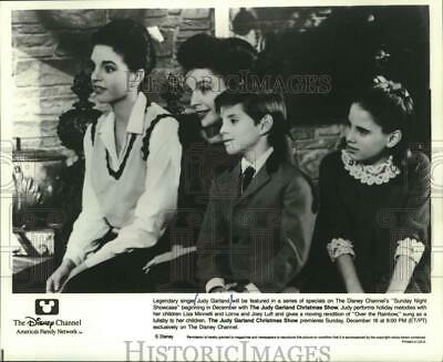1985 Press Photo Judy Garland The Concert Years Mjx81537 24 96