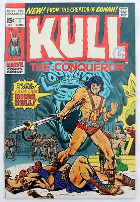 1ST ISSUE Kull the Conqueror 1 a vfn+ 1971 silver age Marvel Comic   Wally Wood