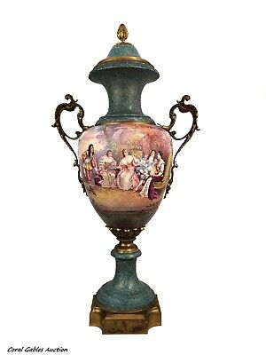 Antique French sevres vase of the 19th century