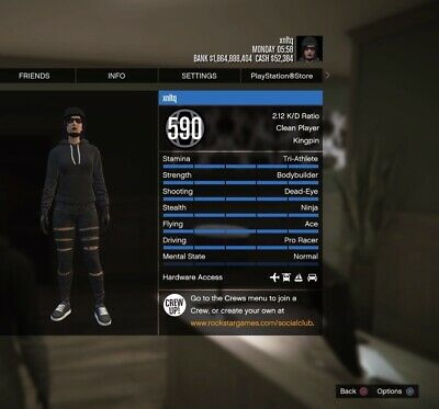 gta v hacked accounts for sale